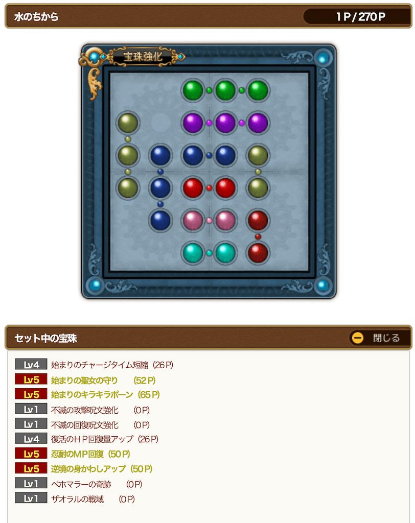 ジェルザーク用魔法戦士の宝珠 水
